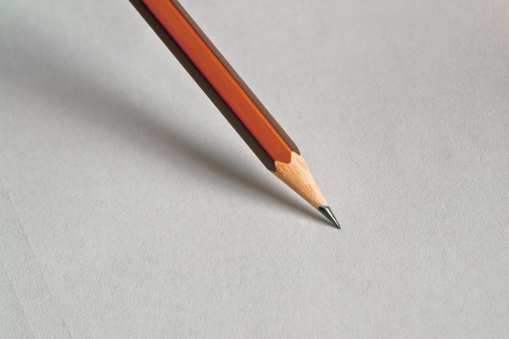 pencil, office, design